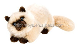 Plush toy cat lifelike toy cats that look real