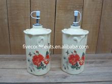 Elegant Ceramic Oil and Vinegar Cruet Kitchen Ware