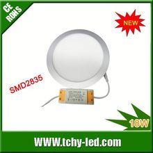 Shenzhen quality 225mm 18W round flat ceiling led panel light