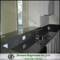 High quality black kitchen countertop cut to size worktop