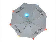 High quality and innovative design led umbrella manual open led umbrella from China manufacturer