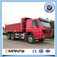 Best selling manufacturer sinotruk howo 6X4 truck kipper for sale with high quality