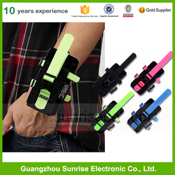 100% Cotton And Nylon Sport Armband Bags For All Mobile Phones