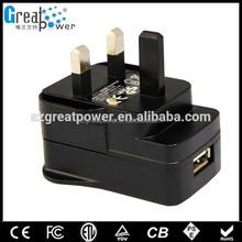 Phone 12w ac/dc adapter UK/US/EU/AU plug Manufacturer