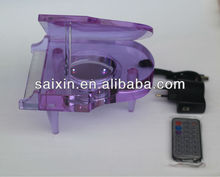 purple crystal piano with remote control Good wedding favors