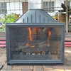 cast iron fireplace 30 years factory