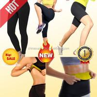 2015 hot sell shaper in men and women, fir slim body shaper Long pant and short pant made of neoprene