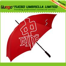 62inch fiberglass straight Promotional Umbrella