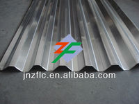 Heat resistant corrugated aluminum roofing sheet