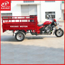 China Popular Direct Sale Water/Air cooling Petrol Trike Delivery Cargo Tricycle For Sale