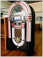 Back to 50' Style Retro Music Jukebox - CD Player - Jukebox Restaurant/ Bar Option