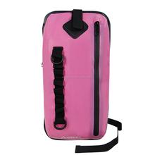 Rosa mochila honda impermeable para los adolescentes