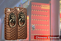 Newest Unique Chinese Style Door Handle PC Hard Back Cover for iPhone 6/6 Plus, for iPhone 6 cases