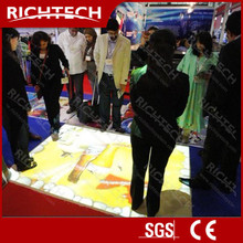 HOT!!! Interactive floor and wall projection solution software 3D with high quality