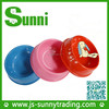 2015 factory new design promotional plastic cheap dog bowl for cocker spaniel