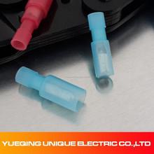 Azul 16-14A.W.G totalmente aislado varón bala conector receptáculo MPFNY2-25-156