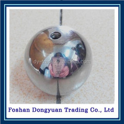 chrome plated with through hole steel ball