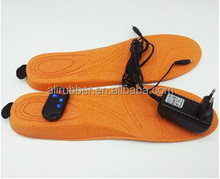 Heated Insoles & Remote: Middle size, Hunting Shoes, Ski Boots Foot Warmers, Hiking