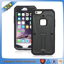 Heavy Duty Anti- scratch Shockproof Armor Waterproof Tank Case For iphone 6 With Anti-dust Hole And Waterproof Screen Protector