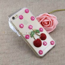 China Alibaba New Cheap Hot Selling Glitter Rhinestone Mobile Phone Case for Apple iPhone 6