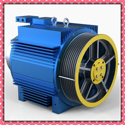 GIE gearless traction motor for elevator parts