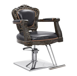 black color beauty salon /unique barber chairs/hairdressing barber chairs S05