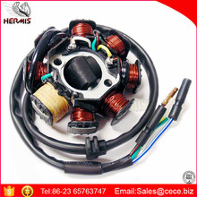 8 Coil Magneto Stator with 3+2 Wiring Connector for 125cc and 150cc GY6 Coolster Go-Karts