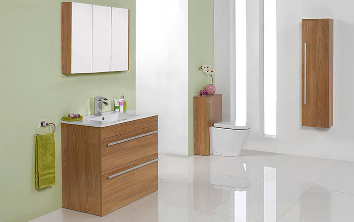 Vente chaude chinois mdf salle de bains en bois armoire for Armoire de salle de bain bois