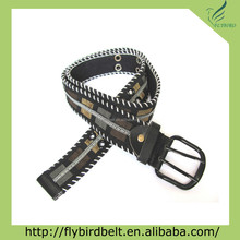 canvas fashion belt cheap waist belts for female