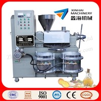 Peanut,soybean,sesame,sunflower seed,rapeseed,cotton seed oil press machine
