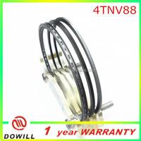 4TNV88 engine piston ring, 4TNE88 piston rings, 88mm piston rings