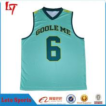 custom simple design basketball jersey throwback blue jerseys