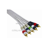 wholesale vga to rca splitter cable rca to 8mm rca video cable 10m