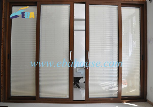 Giapponese design del telaio in alluminio porta scorrevole - Telaio porta scorrevole prezzo ...