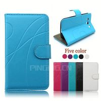 factory price pu leather pouch case for samsung c6712