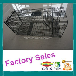 Professional Collapsible Fox Trap Cage 110x44x48.5cm(LxWxH)---TLD2018