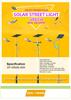 Hige Efficiency Bridgelux LED Solar Street Light IP65 price list