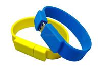 Silicone cheap usb wristband