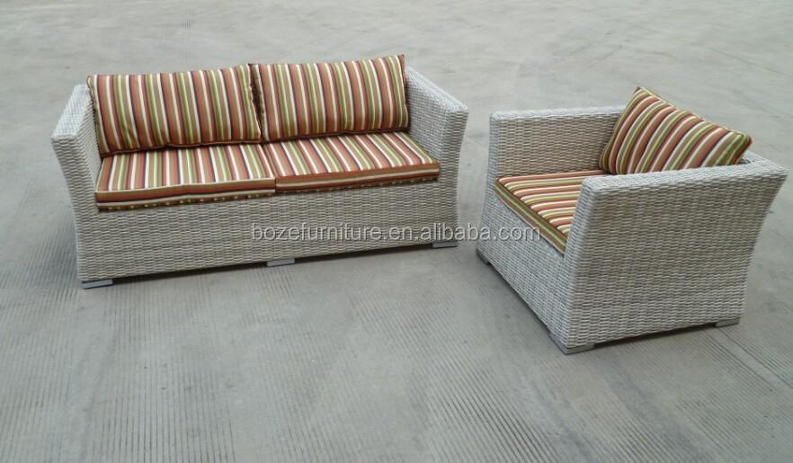 plastic wicker rattan garden sofa furniture leisure patio