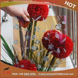 High quality decorative acid etched glass