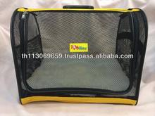 Pet carrier & bed (Yellow)