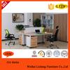 Modern wooden executive table/popular design executive desk