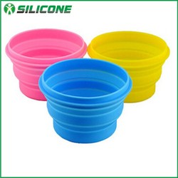 New products food grade silicone pet bowl dog bowl collapsible dog water bowl