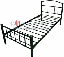 Antique guangzhou single home bed,hot sale cheap bunk bed metal ,sale home furniture bedroom bed