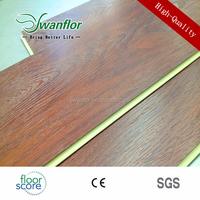 Drop Click System Sound Absorbing Vinyl Plank WPC Flooring