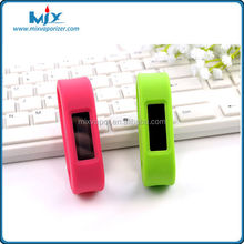 High-quality smart wristband for fitness and sleep monitor with 15days for storage multiple colors for option