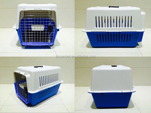 Light blue dog Flight Carrier /cage/ house for 20kgs(44 pounds)