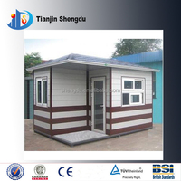 Ce certification quick assembly houses ready made low cost prefab house