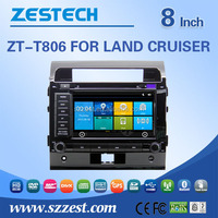 ZESTECH Hd Car DVD GPS Navigation Autoradio Headunit Navi Stereo Radio for Toyota Lc200 Land Cruiser 2008-2012 free map card