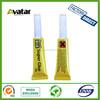 super glue in Aluminium tube 12pcs in one card with low price